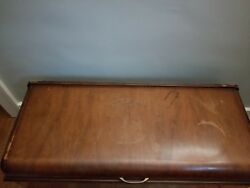 Antique Cedar Chest Ed Roos Company Forest Park Il. Hope Chest Trunk