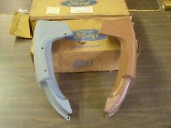 Nos Oem Ford 1967 1968 Mustang Coupe + Convertible Quarter Panel Extensions Pair
