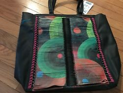 Desigual Designer Shopping Bag with Chain in the design - Brand new Retails $124