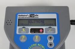 LOGICUBE SOLITAIRE PORTABLE HARD DRIVE DUPLICATOR **WORKS BUT NO CABLES**