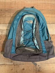 The North Face Women's Jester Daypack HIking School Backpack Blue Gray T196T596