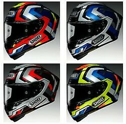 Shoei X-14 Brink Full Face SportTouring Street Motorcycle Snell Riding Helmet