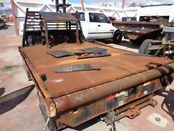 Flatbed With Winch 139 Inches Long X 96 Inches Wide