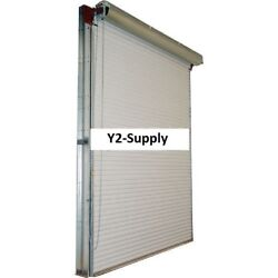 New 12 X 10 White 2000 Series Roll-up Dock Door W/41 Reduction Drive Chain