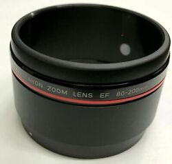 Canon Ef 80-200mm 2.8 L Zoom Lens Front Filter Window Sleeve Part Cg9-5361-000
