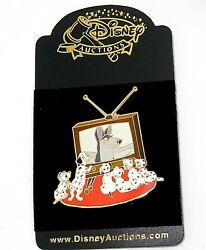 Rare Le Disney Auctions Pin From 2004✿ 101 Dalmatians Watch Classic Tv Puppy Dog