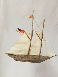 Beautiful Vintage Antique 1900and039s Dresden Yacht