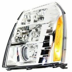 HID Headlight For 2007-2009 Cadillac Escalade Left w/ Bulb & Ballast