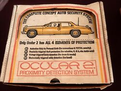 Vintage 1970and039s Nos Ocular 2 Proximity Detection Auto Alarm System Brand New