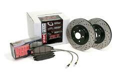 NEW Stoptech Brake Pad Rotor Sport Slotted and Drilled Front Rear 978.62001