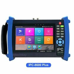 Ipc-8600 Plus 7 Cctv Tester Ip Camera Monitor 4k H.265+ Hdmi Poe + Cable Tracer