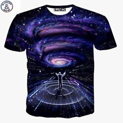 Mr.1991 brand summer style t shirts boy both side Galaxy symphony conductor 3D P