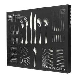 Stanley Rogers 56pc Baguette Stainless Steel Cutlery 56 Piece