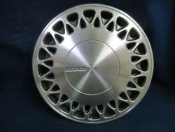 Plymouth Voyager 1991-1993 15 Lace Design Metal Wheel Cover - 1 - Oem