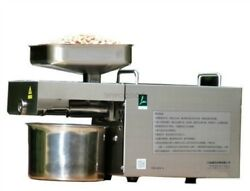 Stainless Steel Presser Automatic Cold Hot Nuts Seeds Oil Press Machine New Tk