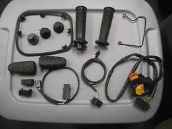 Bmw Used Parts Grips, Harness, Horn Switch, Pedal Rubber, And More Lot 5