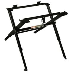 Compact Folding Table Saw Stand - Adjustable Lightweight Portable By Milwaukee