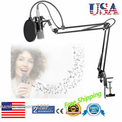 BM-700 Pro Studio Broadcasting Recording Condenser Microphone Adjustable Stand