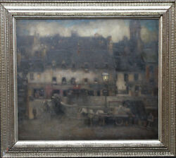 THOMAS CAMPBELL MACKIE SCOTTISH OIL PAINTING CO DONEGAL IRELAND 1930 EXHIB. ART