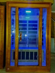 2 Person Infrared Sauna Detox Pain Relief