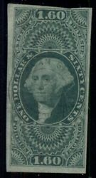 Us R79a 1.60 Foreign Exchange Imperf Used W/light Cancel Miller Certificate