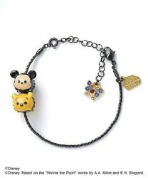 New Anna Sui X Disney Tsum Tsum Bracelet Mickey And Winnie The Pooh From Japan F/s