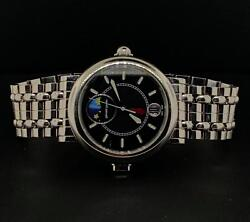 Gerald Genta Night And Day Stainless Steel 36mm Automatic Date Ref G.3706