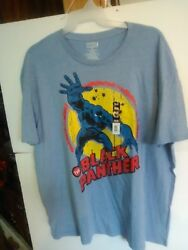 Marvel The Black Panther Men's T-Shirt 3X 54-56 NWT