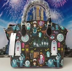 NWT Disney Dooney & Bourke Haunted Mansion Satchel Bag Purse Sold Out