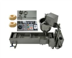 New Approved Commercial Automatic Donut Fryer/maker Making Machine 3 Set Mold Iz