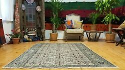 Exquisite Vintage 1939-1950and039s Natural Dye 4and0399andtimes6and0391 Wool Pile Bunyan Rug