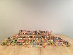 Littlest Pet Shop Huge Lot: Animals Houses and Accessories.