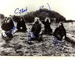 BLIND MELON Band Shannon Hoon +4 Signed Autographed 11x14 Photo Beckett BAS