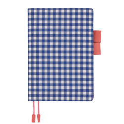 SALE HOBONICHI TECHO 2018 Only Cover Blue Gingham A5 Size (fits Cousin)