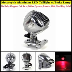 Motorcycle Side Mount Led Brake Taillight Fits Harley Roadking Roadster Softail