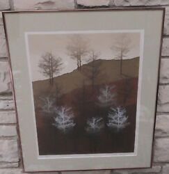 Limited Edition Print Dark Shadows Signed Numbered Virgil Thrasher