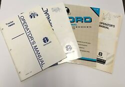 Ford 1920 Tractor Manuals