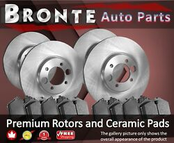2006 2007 For Chevrolet Optra Disc Brake Rotors And Ceramic Pads F+r