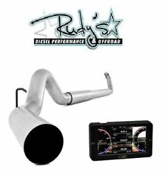 Mads Smarty Touch Tuner And 5 Exhaust For 2003-2004 Dodge Ram 5.9l Cummins Diesel