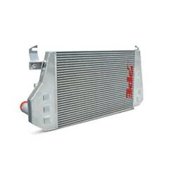 Ppe High Flow Performance Studded Intercooler For 06-10 Chevy/gmc 6.6l Duramax