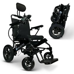 2021 New Comfy Go Fda Approved Lightweight Remote Control Electric Wheelchairs