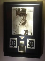 Ty Cobb Game Used Worn Signed Baseball Bat Tigers Photo Picture Psa Loa Ws Hof