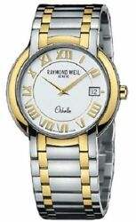 Raymond Weil 2310-stg-00308 Othello Stainless Steel And 18k Gp Menand039s Watch 1495