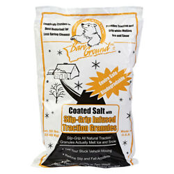 50lb Bag of Bare Ground Coated Granular Ice Melt w Infused Traction Granules...