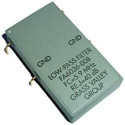 Fa6036-00blow Pass Filter 5.9mhz Grass Valley Group 1 Piece