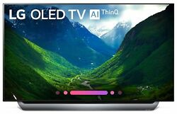 2018 LG Electronics 55-Inch 4K Ultra HD Smart OLED TV with Google voice Control