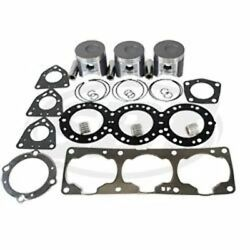 Kawasaki 1100cc Zxi-stx Top-end Kit Piston-ring 0.5mm-gasket-bearing Jetski Sbt