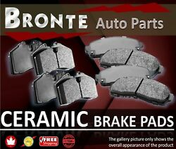 2005 2006 For Chrysler Crossfire Front And Rear Ceramic Brake Pads Supercharged