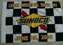 Joey Loganoand039s First Nascar Monster Cup Win Victory Lane Flag