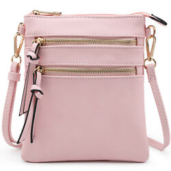 Dasein Women Crossbody Bags Faux Leather Small Shoulder Purse $25.99